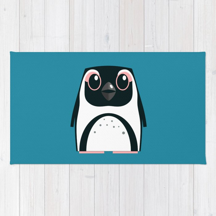 African Penguin - 50% of profits to charity Rug
