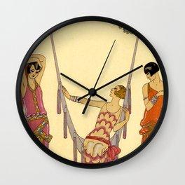 George Barbier - Ete (art deco print) Wall Clock