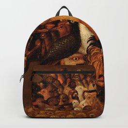 "Giuseppe Arcimboldo ""Four elements - Air"" Backpack"