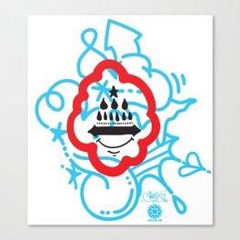 GIOSE X STREETART.COM Canvas Print