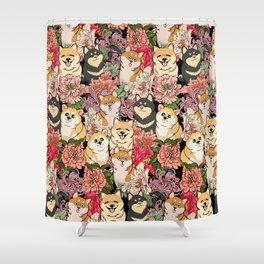 Because Shiba Inu Shower Curtain