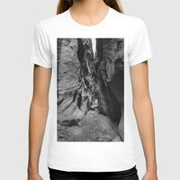 utah T-shirts featuring Slot Canyon, Utah by Lost In Nature