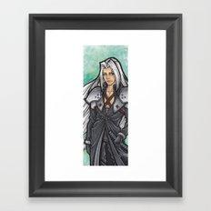Sephiroth Framed Art Print