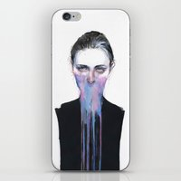 mouth iPhone & iPod Skins featuring my opinion about you by agnes-cecile