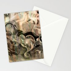 Fluidity Noir Stationery Cards