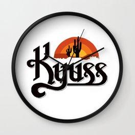 Kyuss Wall Clock