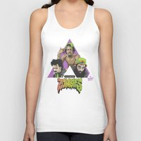 zombies Tank Tops featuring FLATBUSH ZOMBIES by WHIP