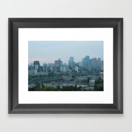 Downtown Edmonton Framed Art Print