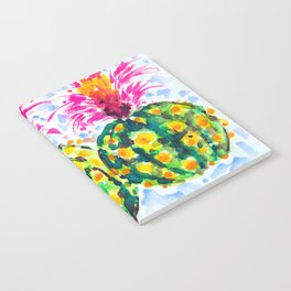 Crazy Hair Day Cactus Notebook