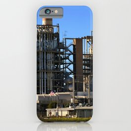 Natural Gas Power Plant iPhone Case
