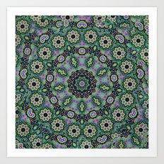 Nine Sided Paisley 2 Art Print
