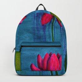 Pink Lotus Backpack