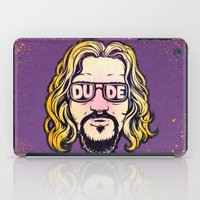the dude iPad Cases featuring Dude by Beery Method