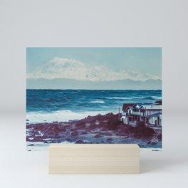 Owhiro Bay Gliders Mini Art Print