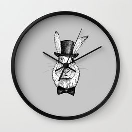 Magic rabbit Wall Clock