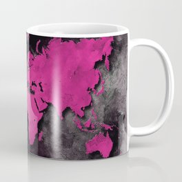 world map 139 #worldmap #map Coffee Mug