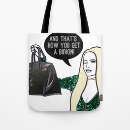 Birkin Tote Bag