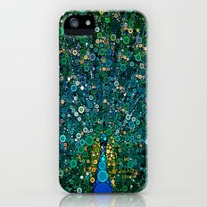:: Peacock Caper :: iPhone (5, 5s) Slim Case