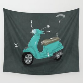 on my way Wall Tapestry