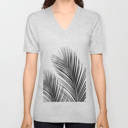 Tropical Palm Leaves #1 #botanical #decor #art #society6 Unisex V-Neck