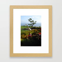 Master of the Garden  Framed Art Print