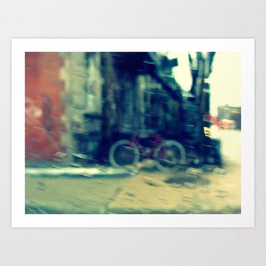 Bixi Art Print