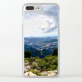 Landscape supramonte orgosolo Clear iPhone Case