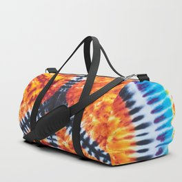 Tie Dye Peace Sign Duffle Bag