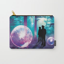 Forest Orbs Carry-All Pouch