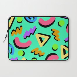 Teal Time Laptop Sleeve
