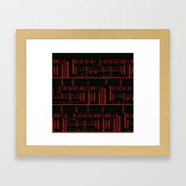 Caped Platformers Framed Art Print