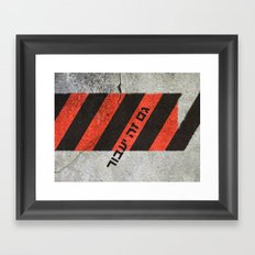 This Too Shall Pass #2 - Urban Design Framed Art Print