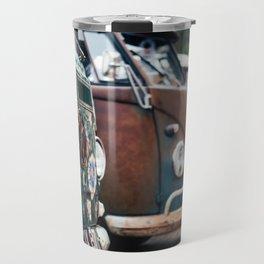 Cambi van flower Travel Mug