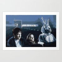 donnie darko Art Prints featuring Donnie Darko by Kevin Patrick Reilly II