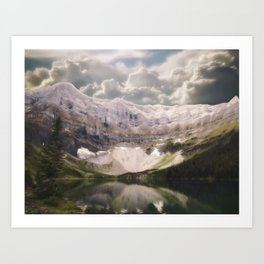 time conquers all Art Print