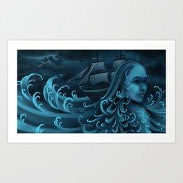 When the Siren Calls Art Print