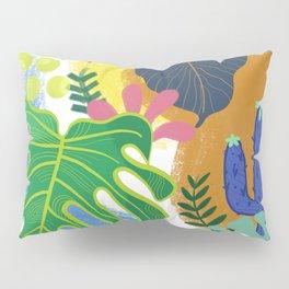 Jungle plants Pillow Sham