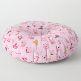 Rosa Pattern Floor Pillow