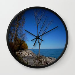 So Near, But Yet So Far #1 (Chicago Northerly Island Collection) Wall Clock