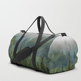 Forest and Fog Duffle Bag