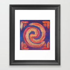 Circle of Fire Framed Art Print