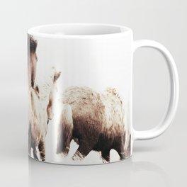WILD AND FREE 2 - HORSES OF ICELAND Coffee Mug