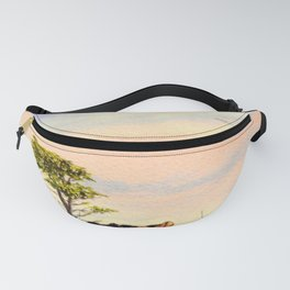 Pebble Beach Lone Cypress Tree Fanny Pack