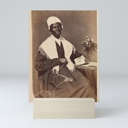 "Sojourner Truth, ""I Sell the Shadow to Support the Substance"" Mini Art Print"