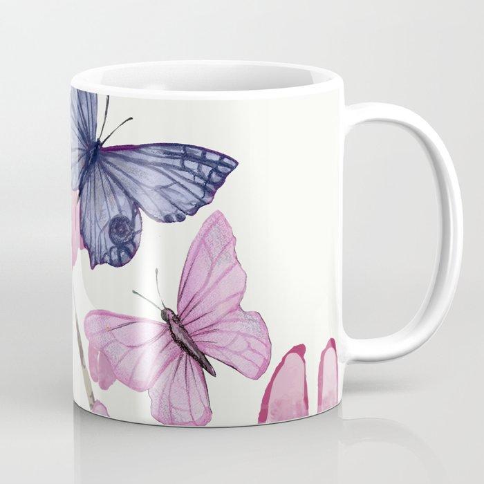 Flowers and butterflies Coffee Mug