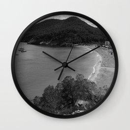Black and White Ibiza Wall Clock