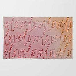 All the Blushing Love Rug