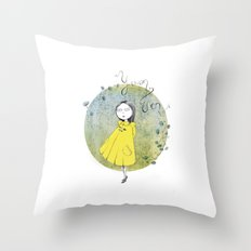 Yuan Wen  Throw Pillow