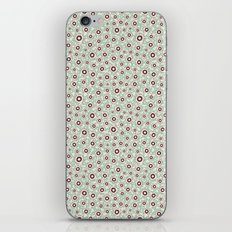 Summertime wallflowers pattern iPhone & iPod Skin