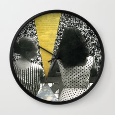 Lines Not For New IPhone, Fight Against Poverty, Homeless & Jobless In America Wall Clock